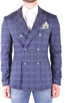 Mason Men's Blue Cotton Blazer.
