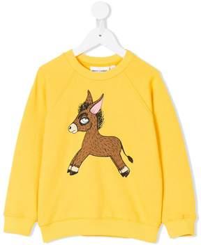 Mini Rodini horse print sweatshirt