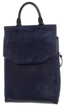 Rag & Bone Suede Pilot Backpack II w/ Tags