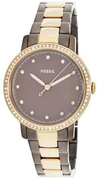 Fossil Women's Neely ES4300 Gold Stainless-Steel Japanese Quartz Fashion Watch