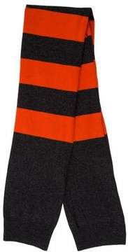 Stella McCartney Striped Wool Scarf