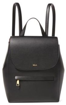 Lauren Ralph Lauren Ellen Leather Backpack