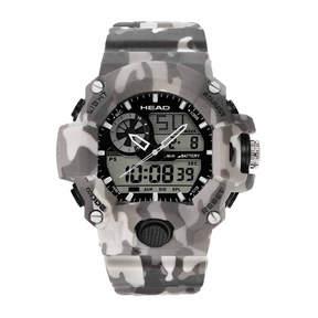 Head Freeride Mens Gray Strap Watch-He-105-03