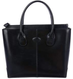 Tod's Leather Zip Handle Bag