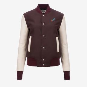Bally Swizz Beatz Embroidered Varsity Jacket