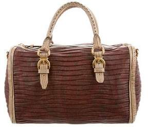 Etro Embossed Leather Bag