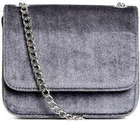 H&M Velvet Shoulder Bag