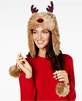 Collection XIIX Reindeer Faux-Fur Trapper Hat