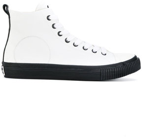 McQ Swallow Plimsoll hi-top sneakers