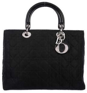Christian Dior Medium Lady Bag w/ Strap
