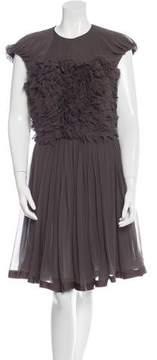Doo.Ri Ruffled Knee-Length Dress