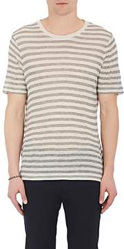 ATM Anthony Thomas Melillo MEN'S STRIPED CREWNECK T-SHIRT