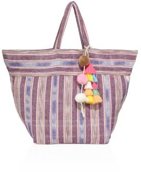 JADEtribe Samui Small Stripe Tote
