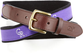 Vineyard Vines Colorado Rockies Canvas Club Belt