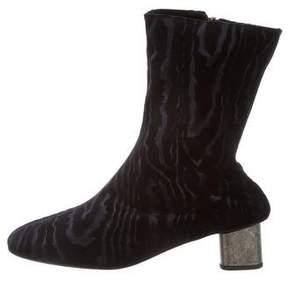 Robert Clergerie Velvet Plopt Boots w/ Tags