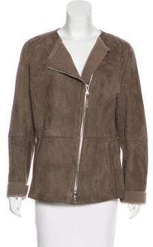 Eleventy Shearling Zip-Up Jacket w/ Tags