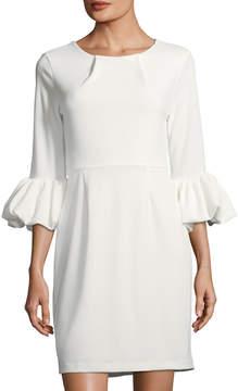 Alexia Admor Balloon-Sleeve Sheath Dress