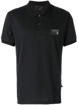 Philipp Plein logo chest patch polo shirt