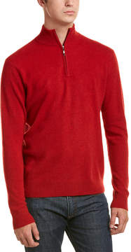 Qi Cashmere 1/4-Zip Pullover