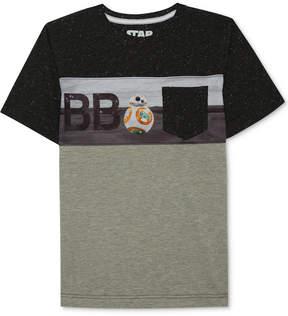 Star Wars Bb-8-Print T-Shirt, Big Boys (8-20)