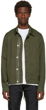 Helmut Lang Green Side Laced Jacket