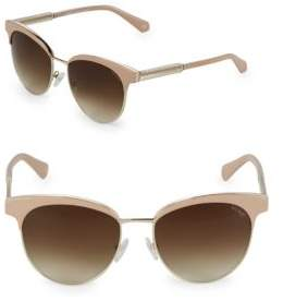 Balmain Gradient 55MM Clubmaster Sunglasses