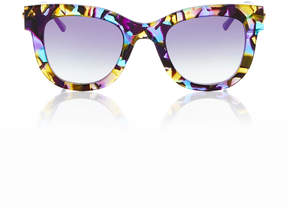 Thierry Lasry SexxxyV6001 Limited Edition Cat-Eye Acetate Sunglasses