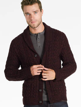 Lucky Brand Cable Knit Cardigan