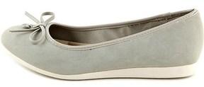 Giani Bernini Womens Odeysa Leather Round Toe Slide Flats.