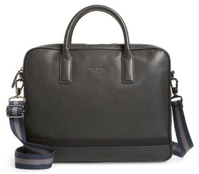 Ted Baker Men's Lowmee Leather Briefcase - Black