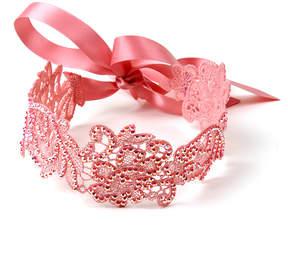Amrita Singh Pink Jenna Lace Choker