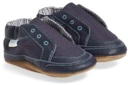 Robeez Infant Boy's 'Stylish Steve' Crib Shoe