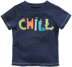 First Impressions Chill-Print Cotton T-Shirt, Baby Boys, Created for Macy's
