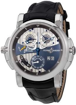 Ulysse Nardin Sonata Silicium Grey Dial Automatic Men's GMT Watch