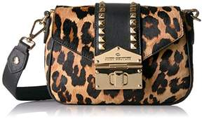 Juicy Couture Leopard Crossbody Bag with Gold Studs