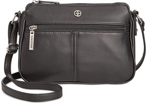 Giani Bernini Nappa Leather Crossbody, Created for Macy's