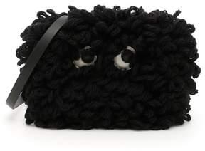 Anya Hindmarch Shag Eyes Crossbody Bag