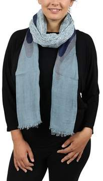 Moschino Scr11236/3 Blue Blazing Flame Scarf.
