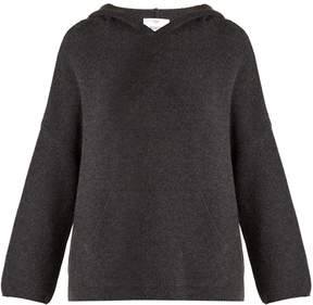 Allude Hooded wool-blend sweater