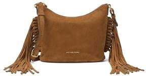 Michael Kors Billy Medium Suede Messenger - Dark Caramel - 30F6ABIM2S-248 - DARK CARAMEL - STYLE