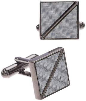 Apt. 9 Men's Carbon Fiber Cuff Links