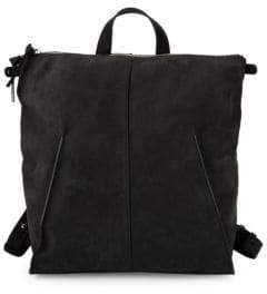 Steven Alan Leather Zip Backpack