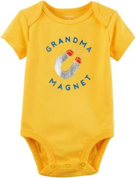 Carter's Baby Boys Grandma Magnet Bodysuit