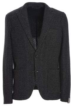Altea Men's Black Wool Blazer.