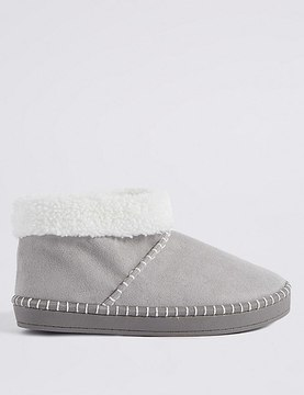 Marks and Spencer Fur Slipper Boots