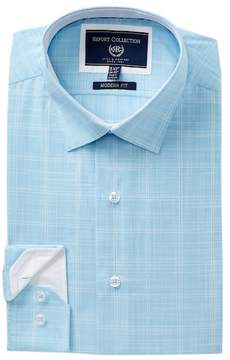 Report Collection Check Trim Fit Dress Shirt
