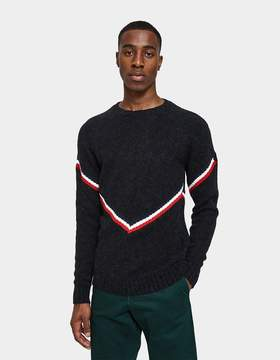 Moncler Maglione Tricot Sweater in Black