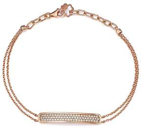 Bloomingdale's Diamond Bar Bracelet in 14K Rose Gold, .40 ct. t.w. - 100% Exclusive