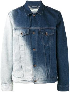 Off-White Half washed denim jacket