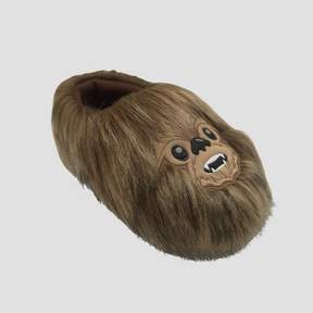 Star Wars Toddler Boys' Chewbacca Slippers - Brown